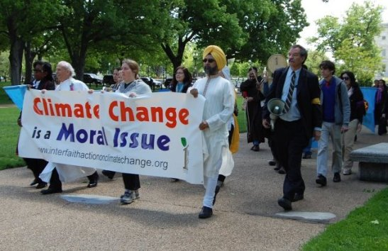 24 April 2012. An interfaith group rally in Washington, D.C. (source Baha'i Faith)