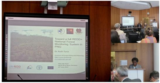 PNG REDD+ side event at Bonn 2014