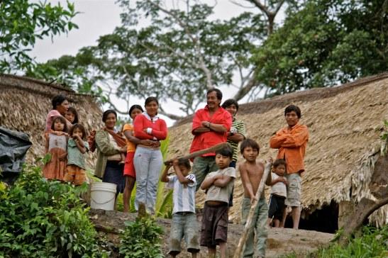 A Sapara community of Ecuador