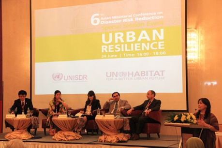 Urban resilience session